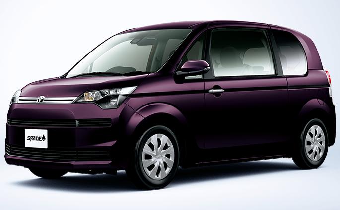 トヨタ スペイドの買取価格・相場一覧表【年式別】